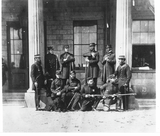 Soldiers at 'Euston Barracks', Fleetwood   (Image 1)