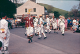 Morris dancing at Malham